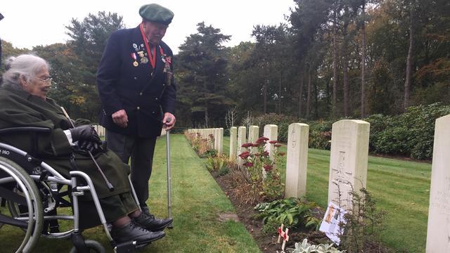 Britse oorlogsveteraan bezoekt Zeeland