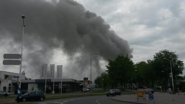 Zwaargewonde na explosie bij bedrijf Wijchen