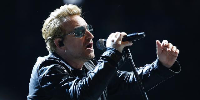 Bono deelt podium met Bruce Springsteen