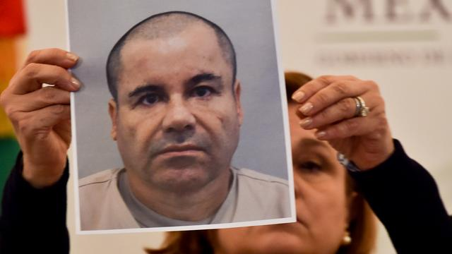 Mexicaanse marine jaagt op ontsnapte drugsbaas 'El Chapo'