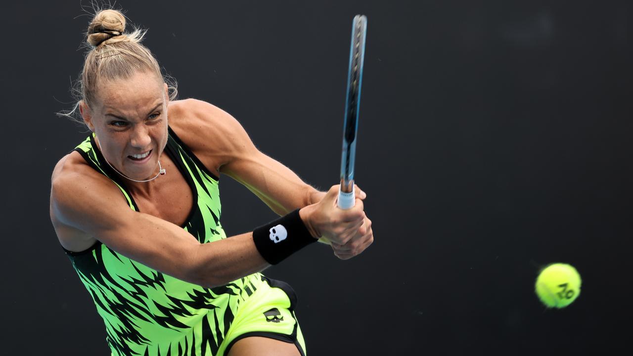 Arantxa Rus bereikt met zege op Chinese Wang tweede ronde in Lyon - NU.nl