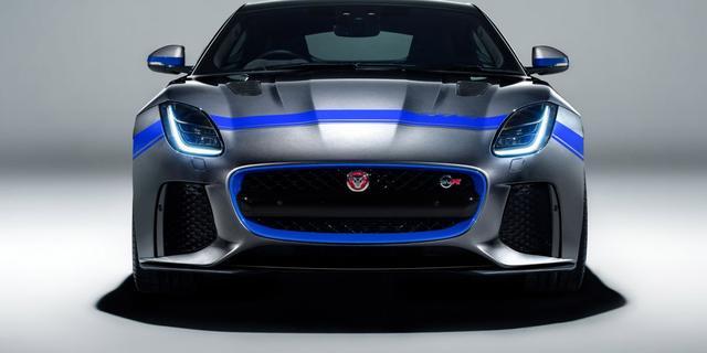 Nieuwe aankleding voor Jaguar F-Type SVR