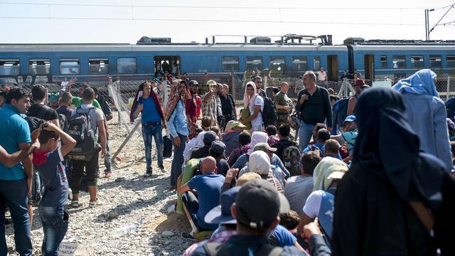Frankrijk neemt 24.000 vluchtelingen extra op