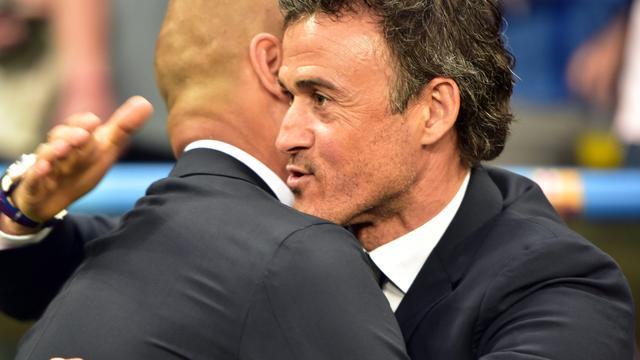 FC Barcelona-trainer Enrique wil nu 'kroon op het werk' zetten