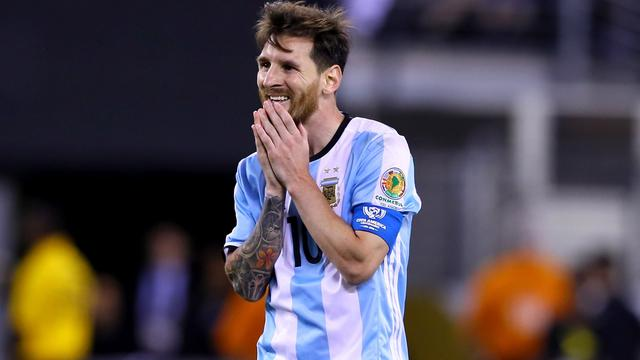 Messi stopt als international Argentinië