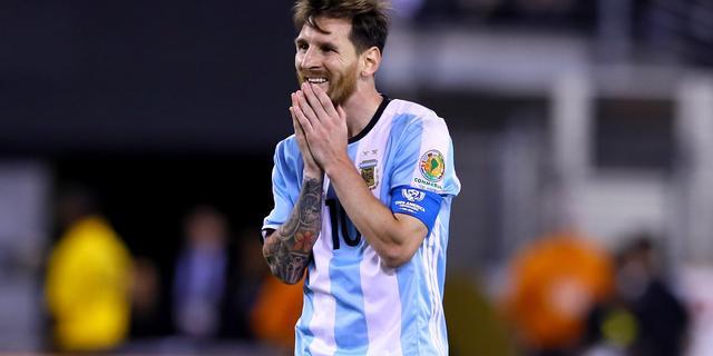 Messi stopt als international Argentinië