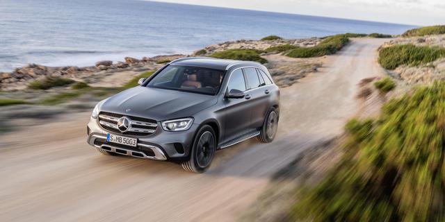 Updates en uiterlijke wijzigingen voor Mercedes-Benz GLC
