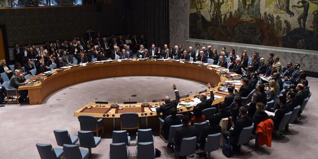 Veiligheidsraad zinspeelt op sancties na rakettest Noord-Korea