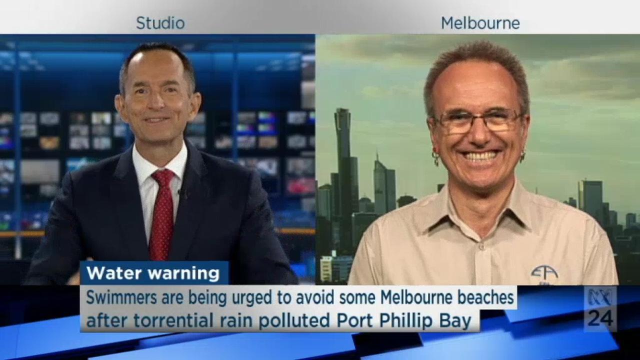 Badgasten in Australische Melbourne kunnen zee beter mijden