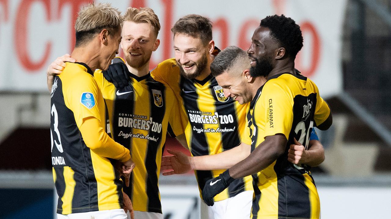 Vitesse Records First Eredivisie Victory Since October Ado Groningen Right Teller Report