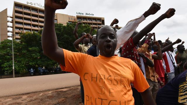 Onderhandelingen in Burkina Faso verstoord