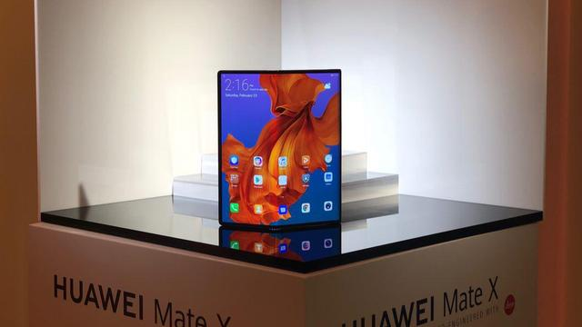 Huawei onthult opvouwbare smartphone Mate X