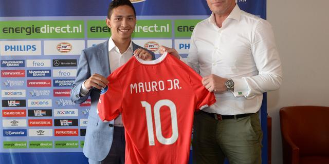 PSV legt Braziliaan Mauro Junior (18) voor vijf jaar vast