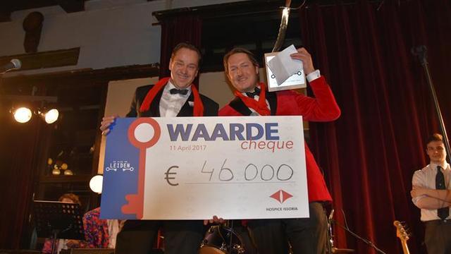 Slag om Leiden haalt recordbedrag op voor Hospice Issoria