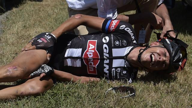 Sinkeldam vreesde opgave Barguil: 'Hij lag echt te creperen'
