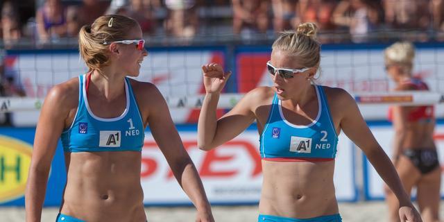 Wesselink en Van der Vlist beginnen EK beachvolleybal met verlies