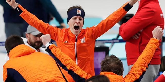 Van Gennip en Timmer loven 'fenomeen' Wüst na tiende medaille