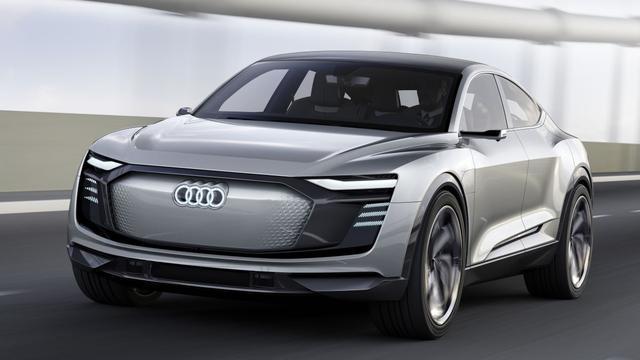Audi e-tron Sportback Concept voorbode van elektrische SUV