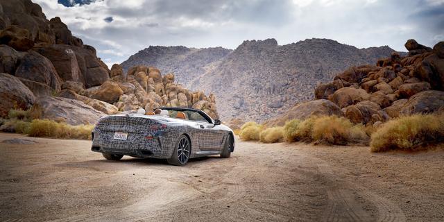 BMW onderwerpt 8 Serie Cabrio aan laatste tests