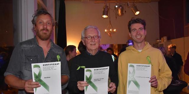 Groene lintjes uitgereikt aan duurzame Leidse initiatieven