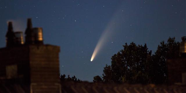 Helderste komeet sinds 1997 is met blote oog te zien in Nederland