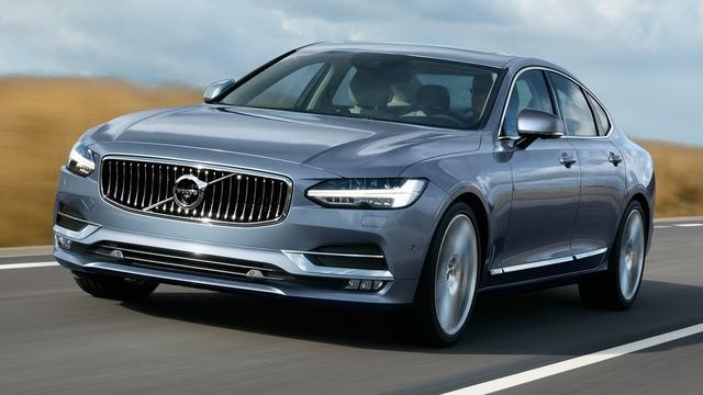 Volvo S90 officieel onthuld