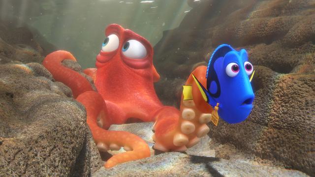 Finding Dory heeft beste opening voor animatiefilm ooit