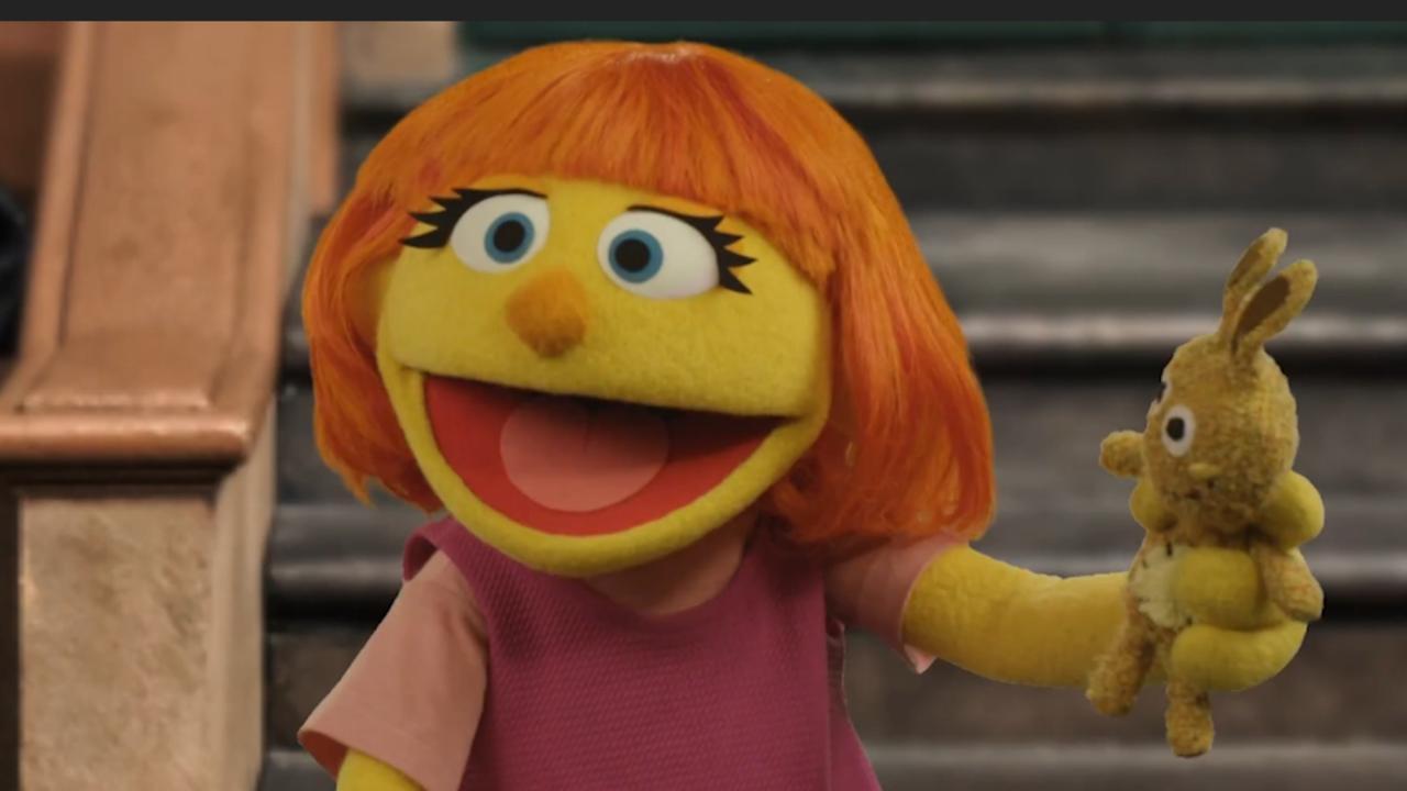 Amerikaanse Sesamstraat introduceert personage met autisme