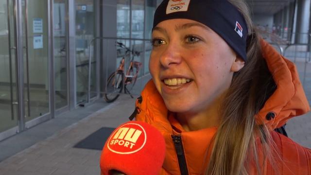 Esmee Visser sluit zich volledig af in aanloop naar olympisch debuut