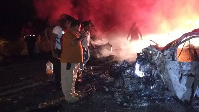 Tien doden bij ernstig verkeersongeluk in Mexico