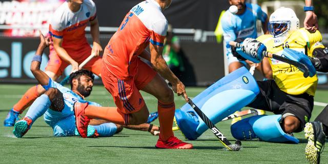 Hockeyers missen finale Champions Trophy na remise tegen India