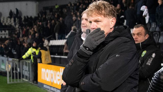 Groenendijk betwijfelt of hij nog wel juiste coach voor ADO Den Haag is