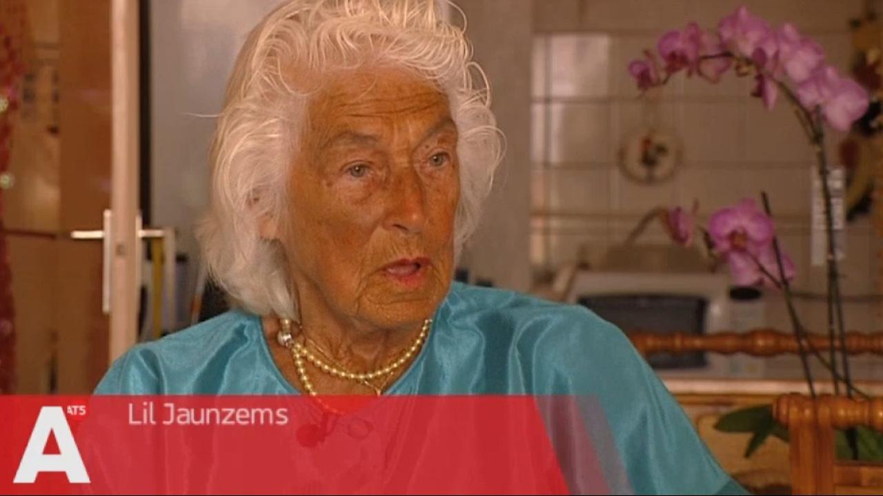 93-jarige Lil Jaunzems werd op straat beroofd