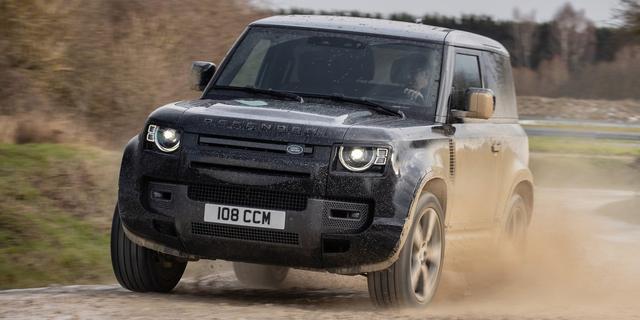 Een dikke V8-motor en 525 pk: zo worden Land Rovers straks niet meer gemaakt