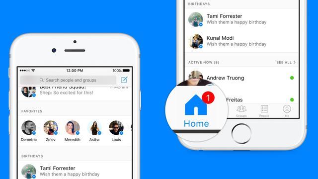 Redesign Facebook Messenger moet 'relevante informatie' beter tonen