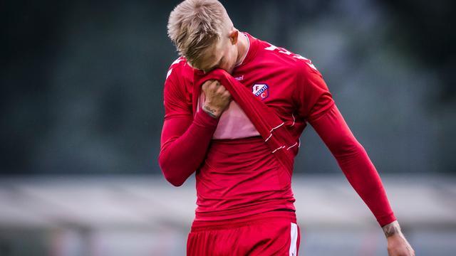 FC Utrecht-spits Makienok voorlopig uit roulatie door zware knieblessure