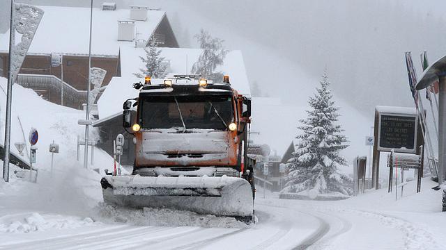 Wintersportverkeer mogelijk gehinderd door forse sneeuwval