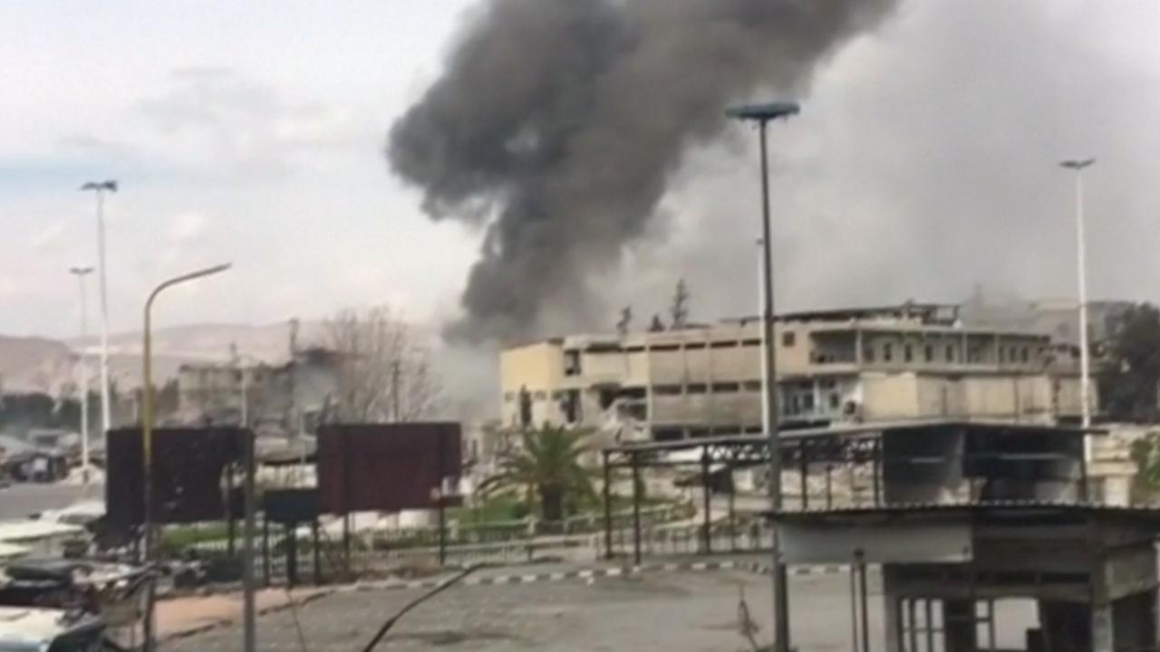 Syrische rebellen lanceren weer aanval op Damascus