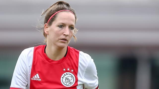 Oranje-international Ellen Jansen vertrekt na twee jaar bij Ajax Vrouwen