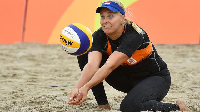 Beachvolleyballers Flier en Van Iersel naar laatste 32 op WK