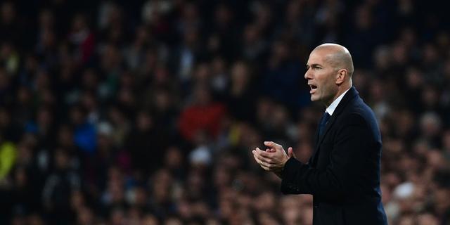 Zidane boos dat Real zege op Dortmund uit handen heeft gegeven
