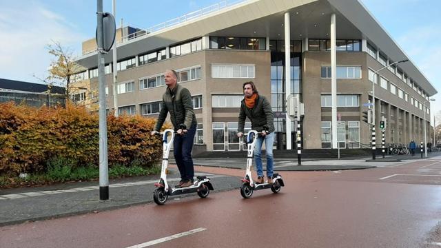 Ambtenaren gemeente Breda voortaan op elektrische step naar afspraken