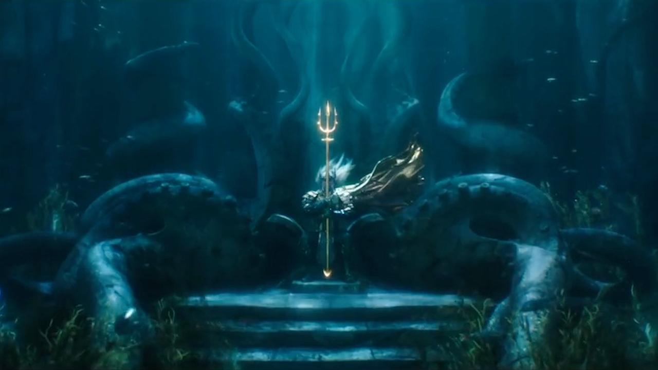 Trailer van Aquaman belooft strijd tussen waterwereld en aarde