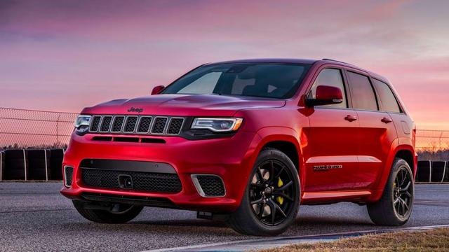 Jeep presenteert ultrasnelle Grand Cherokee Trackhawk