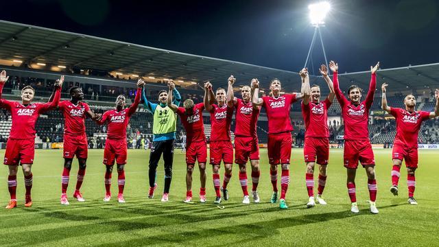 AZ boekt bij Heracles eerste overwinning in vier wedstrijden