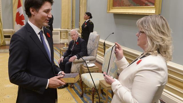 Nieuwe Canadese premier Justin Trudeau beëdigd