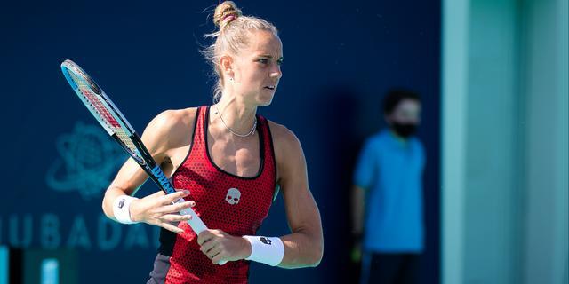 Rus geeft set voorsprong uit handen en strandt op WTA-toernooi in Lyon
