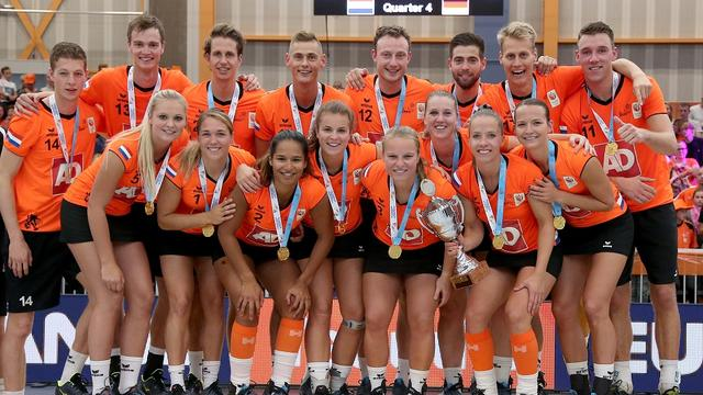 Korfballers voor zevende keer op rij Europees kampioen
