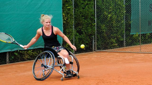 Rolstoeltennisser Diede de Groot naar Paralympische Spelen