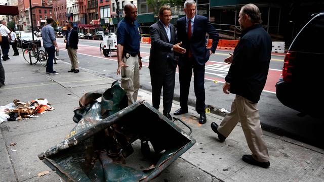 Geen slachtoffers meer in ziekenhuis na explosie New York